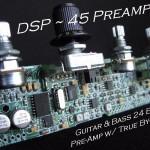 Guitar & Bass 24 Bit Pre-amp w/ True By-Pass