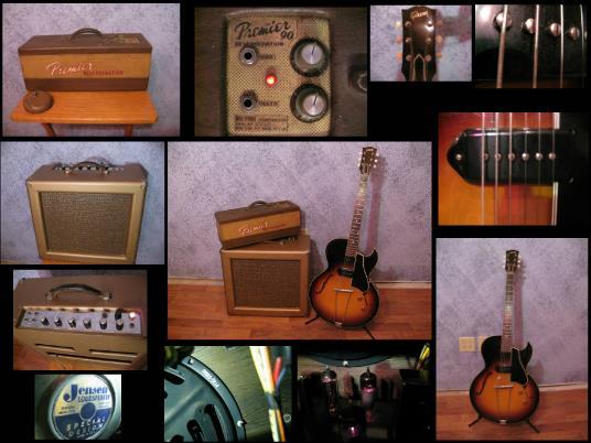 Vintage Corner Collage